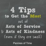 4 Tips to Get the Most out of Serving with Your Kids