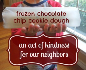 http://penniesoftime.com/act-of-kindness-for-our-neighbors-frozen-chocolate-cookie-dough/