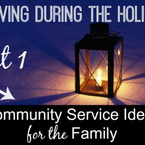 Serving During the Holidays--Community Focus