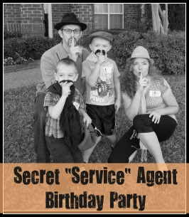 Service Birthday Party for Kids: Operations Secret Smiles