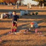 Act of Kindness in Memory:  Cleaning Gravesites