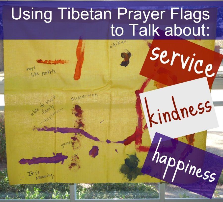 Awareness Activity: Using Tibetan Prayer Flags to Talk about
