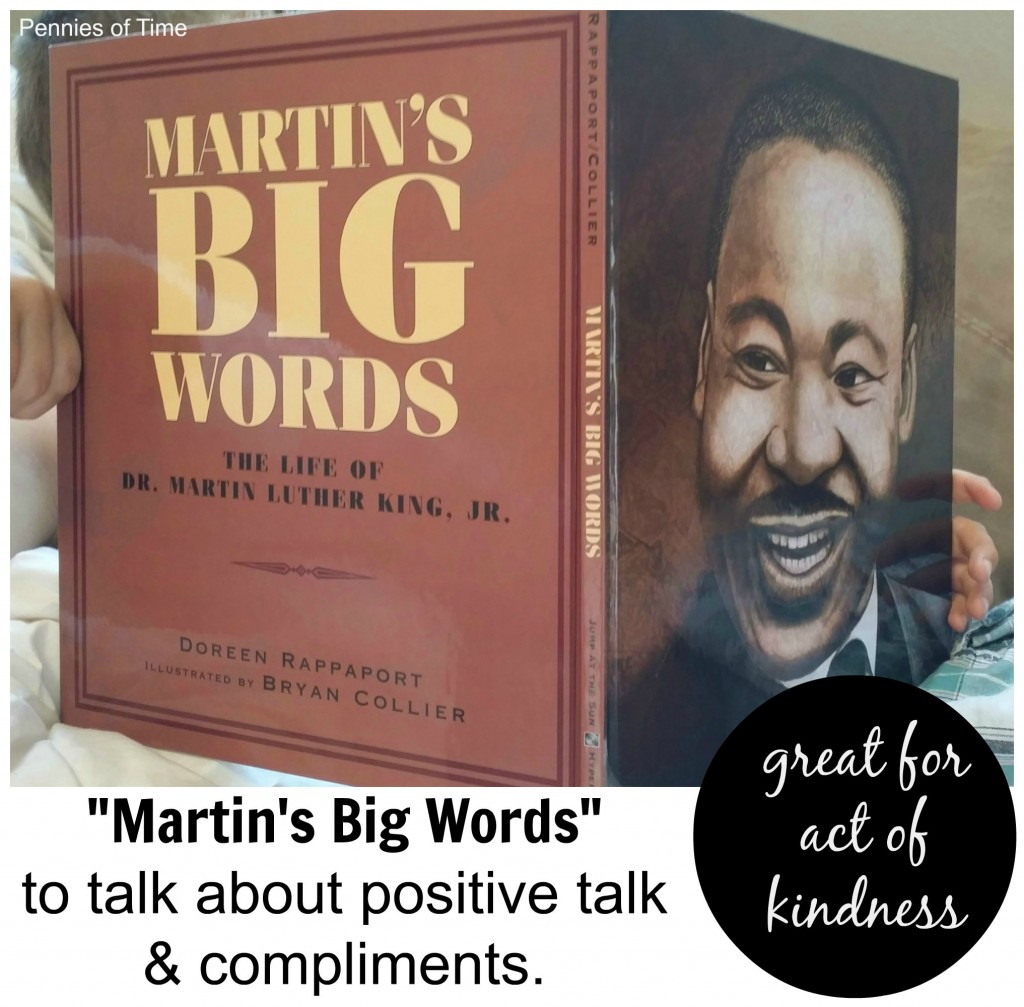 Children's book on positive talk Martin's big words