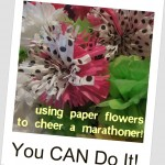 Act of Kindness:  Flowers for Marathon Signs