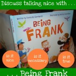"Children's Book on Kindness: ""Being Frank"""