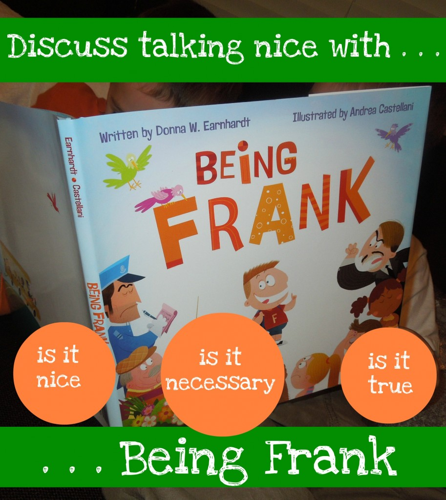 children's book on kindness talking nice with being frank