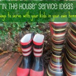 """In the House"" Service Project Ideas"
