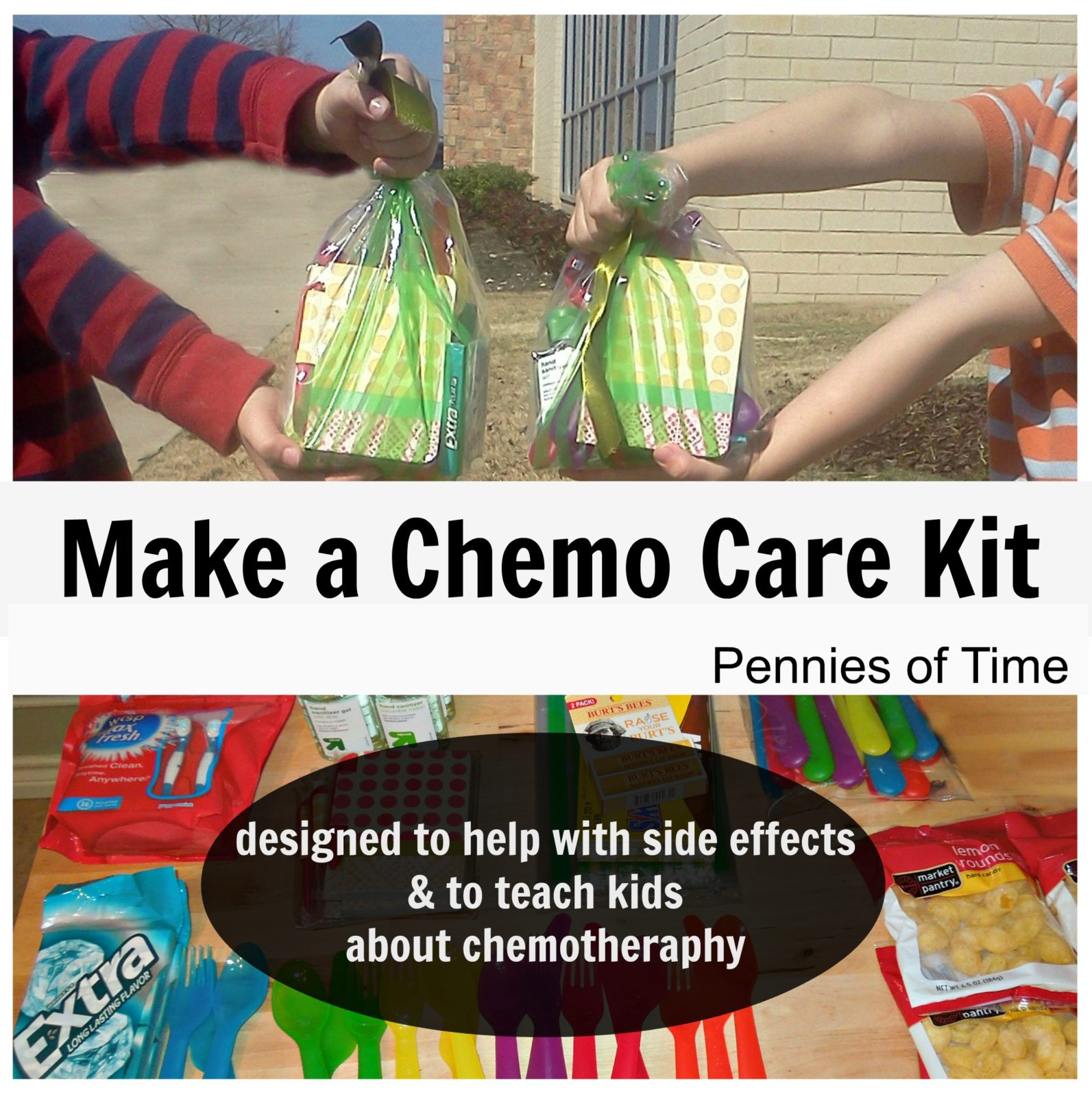 Act Of Kindness Making Chemo Care Packages Pennies Of