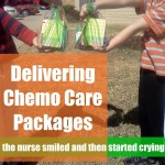 Service Project for Kids:  Delivering Chemo Care Packages
