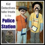 Act of Kindness for Police Officers: Kid Detectives Visit the Police Station