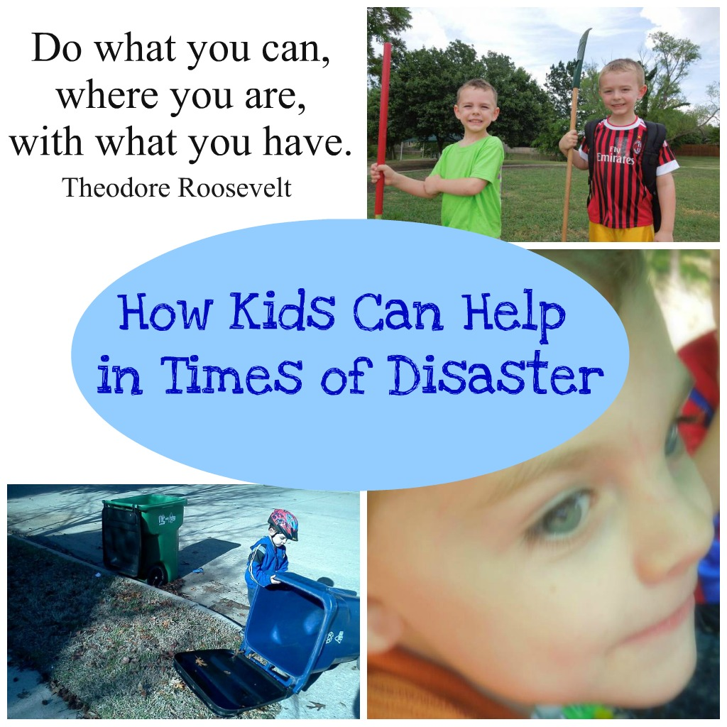 How Kids Can Help In a Crisis