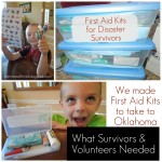 Act of Kindness:  Making First-Aid Kits (for Disaster Survivors)