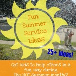 Fun Summer Service Ideas!