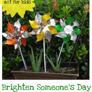 Act of Kindness:  Give a Garden Pot