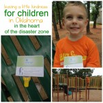 Act of Kindness:  In the Park for Children in Oklahoma