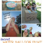 Act of Kindness:  Secret Water Balloon Fight Delivery