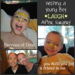 Act of Kindness:  You NOSE You Got a Friend In Me–Helping a Young Boy Recover from Surgery