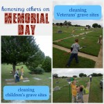 Service Project Kids Can Do:  Honoring Others on Memorial Day