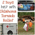 2 Boys Help with Oklahoma Tornado Relief:  Pennies of Time Guest Posts at All Done Monkey