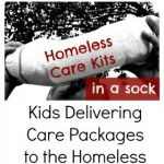Act of Kindness:  Delivering Care Packages to the Homeless