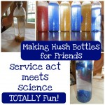 Act of Kindness:  Service Act Meets Science–Making Hush Bottles