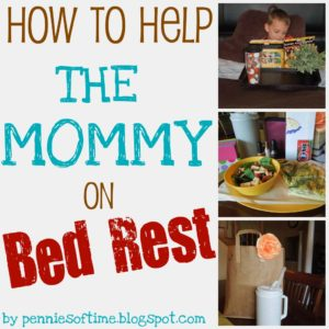 Act of Kindness:  Helping a Mom on Bedrest
