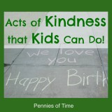 Acts of Kindness that Kids Can Do
