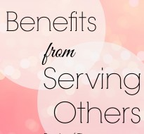 Benefits from Serving Others
