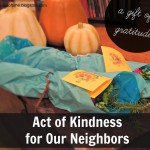 Thankgiving Act of Kindness:  Say Thank You with a Fingerprint Turkey Note