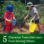 5 Character Traits Kids Learn From Serving Others