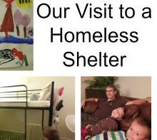 Tour of a Homeless Shelter:  Our Family Visits the Samaritan Inn