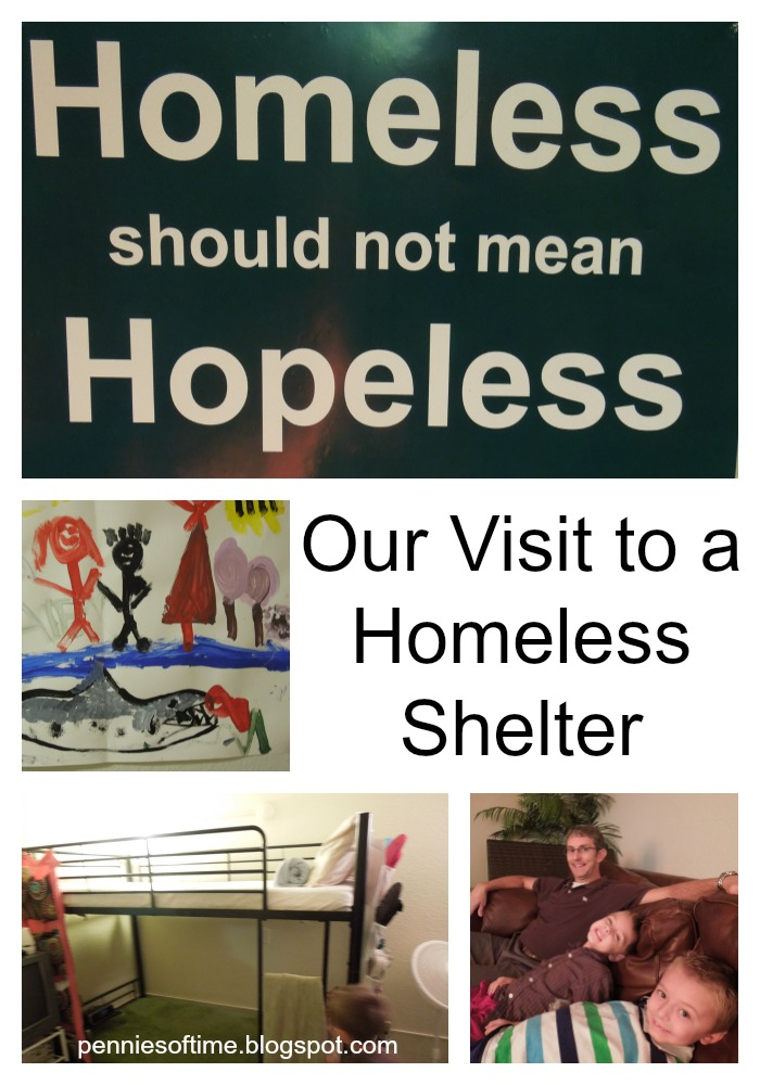 Visit a Homeless Shelter Pennies of Time