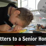 Act of Kindness:  Letters to a Senior Home