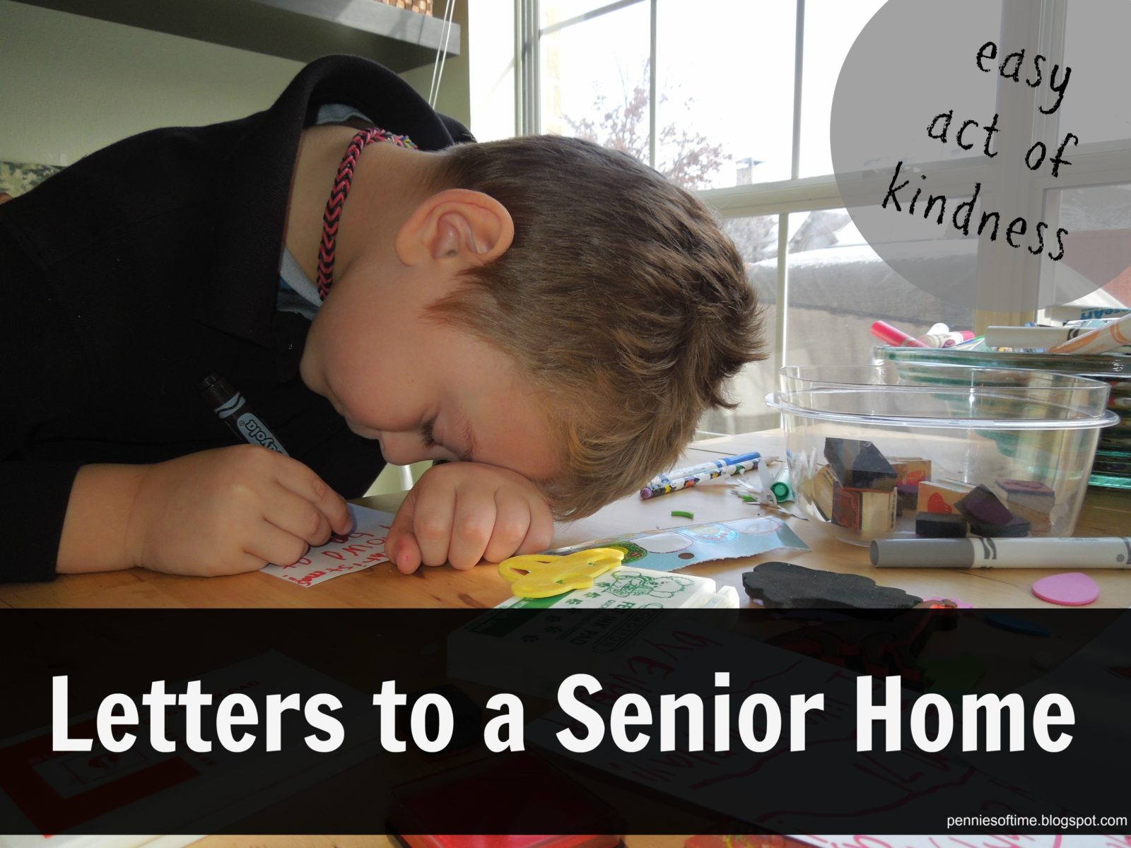 Crafts for the elderly in nursing homes -  Act Of Kindness Letters To A Senior Home