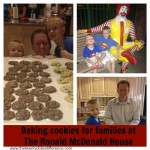 Act of Kindness:  Baking Cookies for the Families at The Ronald McDonald House