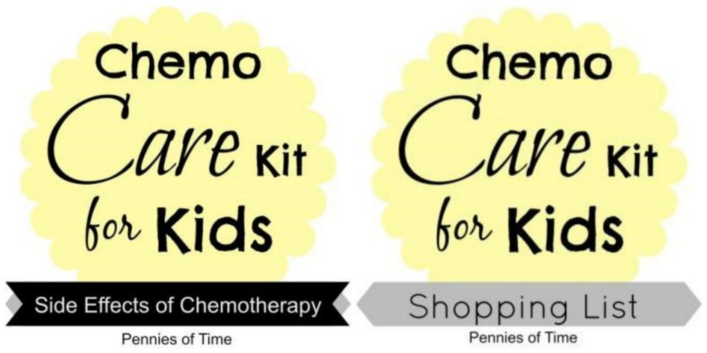 Chemo Care Kits for Kids