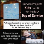 Service Projects for Kids on MLK Day