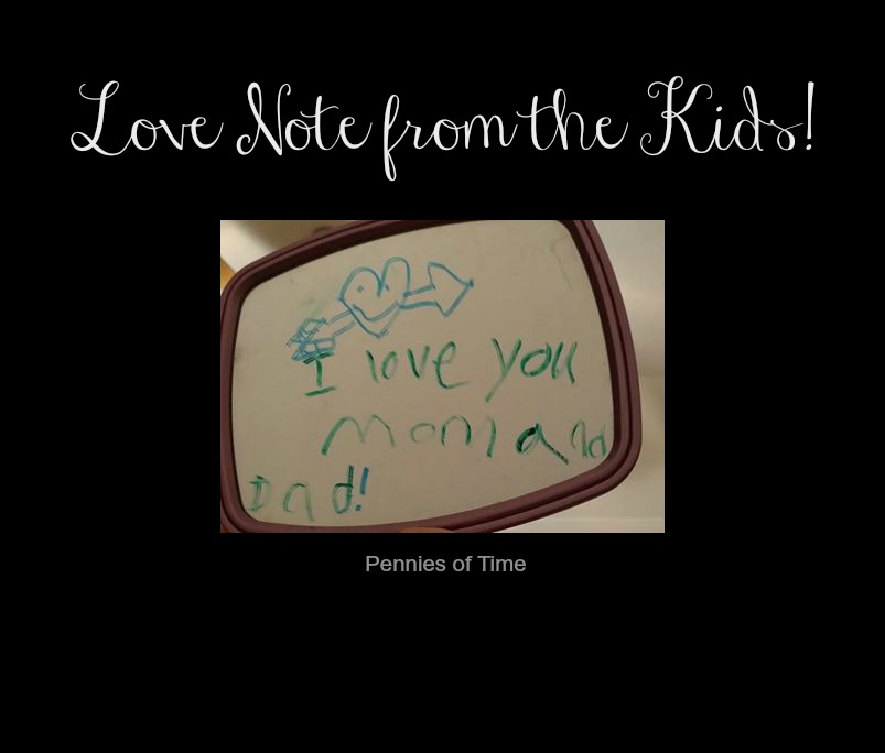 Mirror Love Messages from the Kids