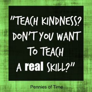 Teach Kindness Pennies of Time