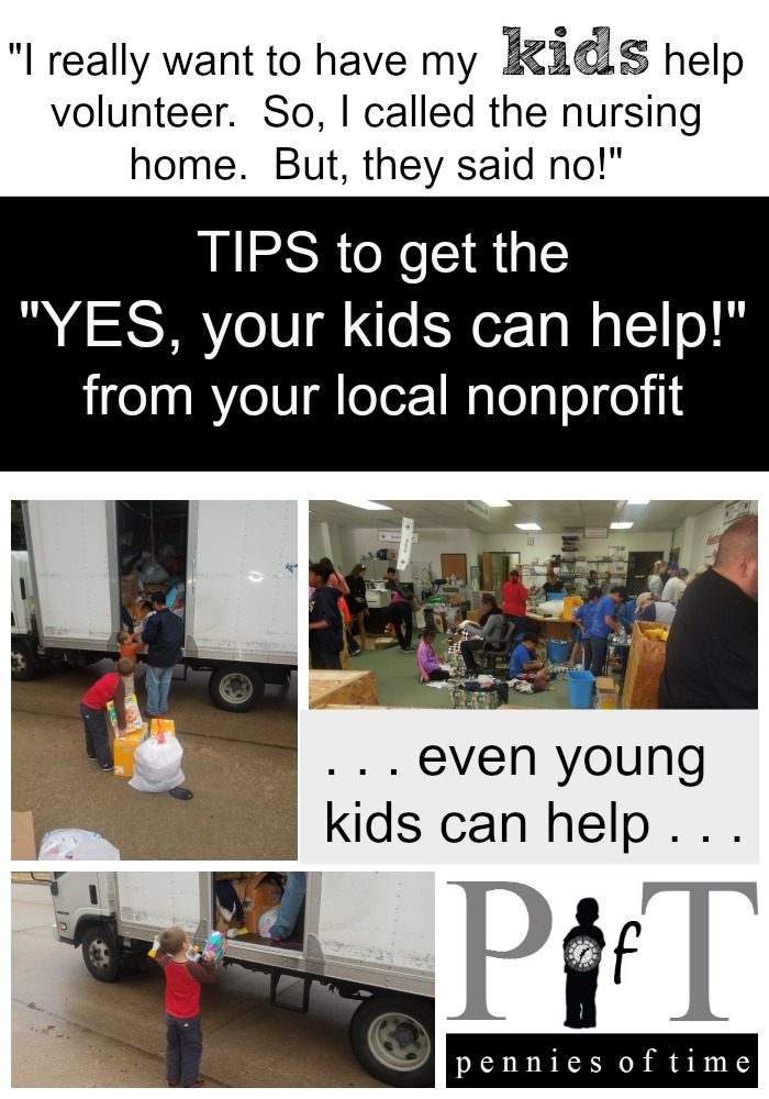 Community Service with Nonprofits Pennies of Time