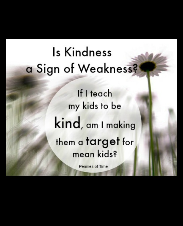 Is Kindness A Sign of Weakness Pennies of Time