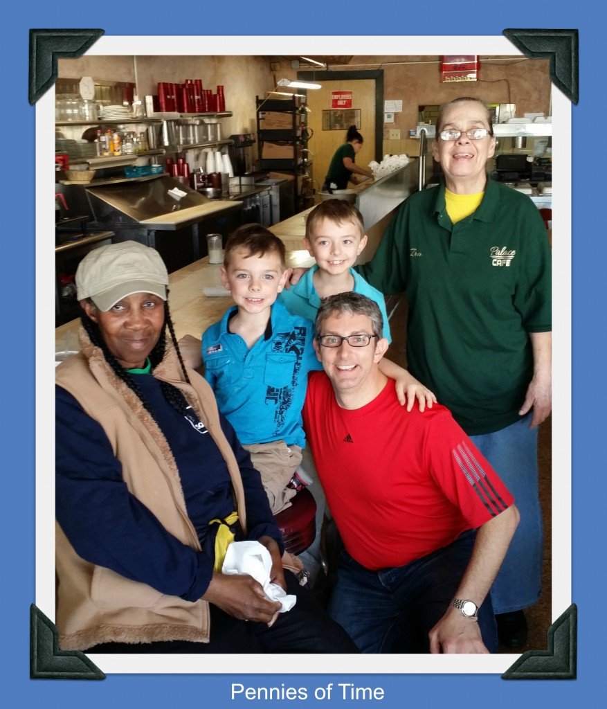 Act of Kindness for Wait Staff Pennies of Time
