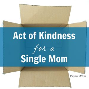 Act of Kindness: Helping a Single Mom