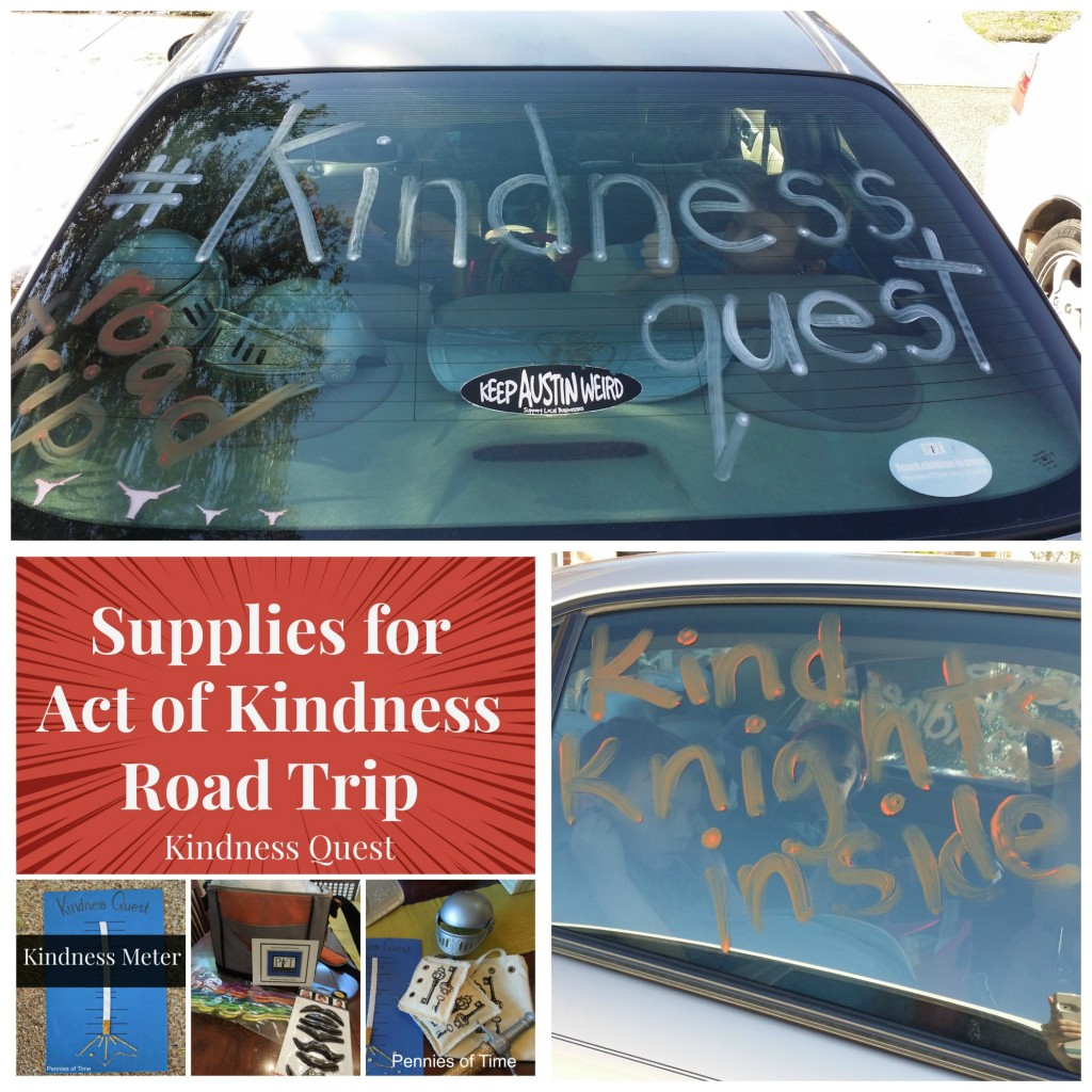 Kindnes Supplies Kindness Quest Collage Pennies of Time
