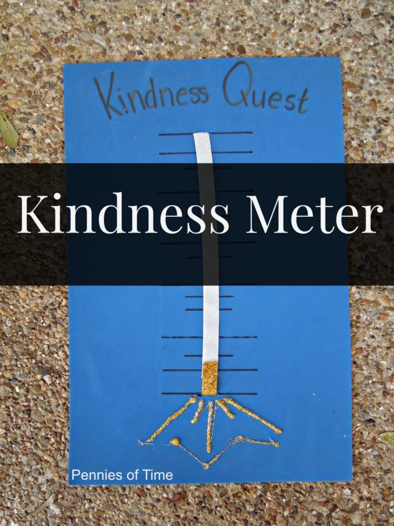 Kindness Meter for Kindness Quest Pennies of Time