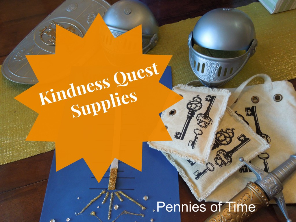 Kindness Supplies Kindness Quest for Pennies of Time
