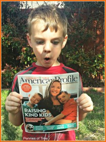 Pennies of Time Featured American Profile Raising Kind Kids with Little Brother X10