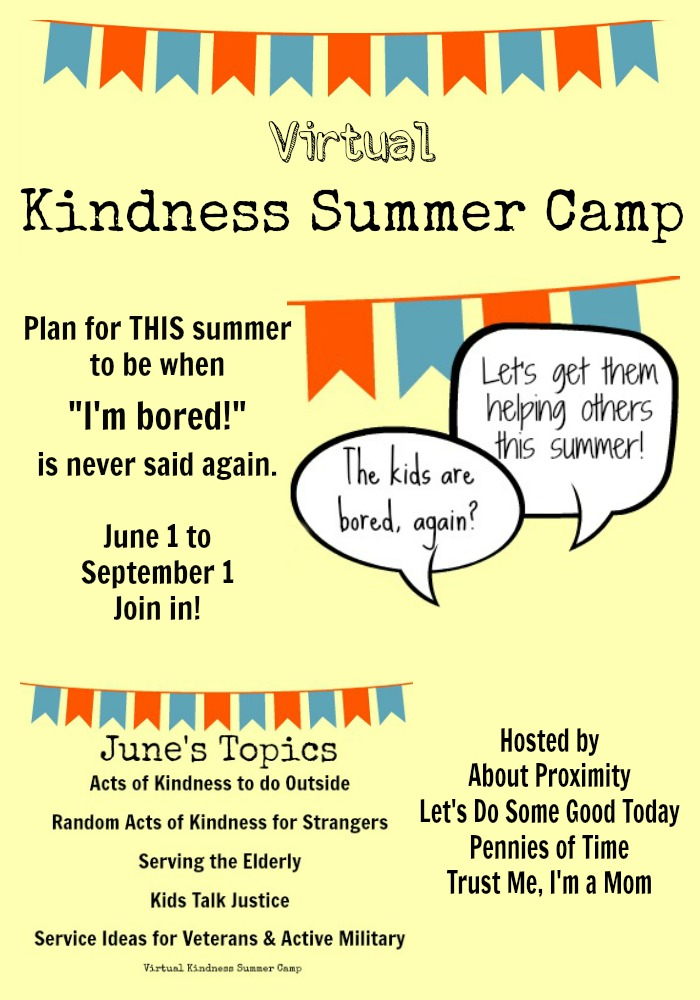 Pennies of Time Virtual Kindness Summer Camp