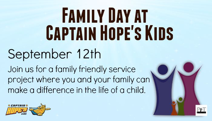 Family Day with Captain Hope's Kids