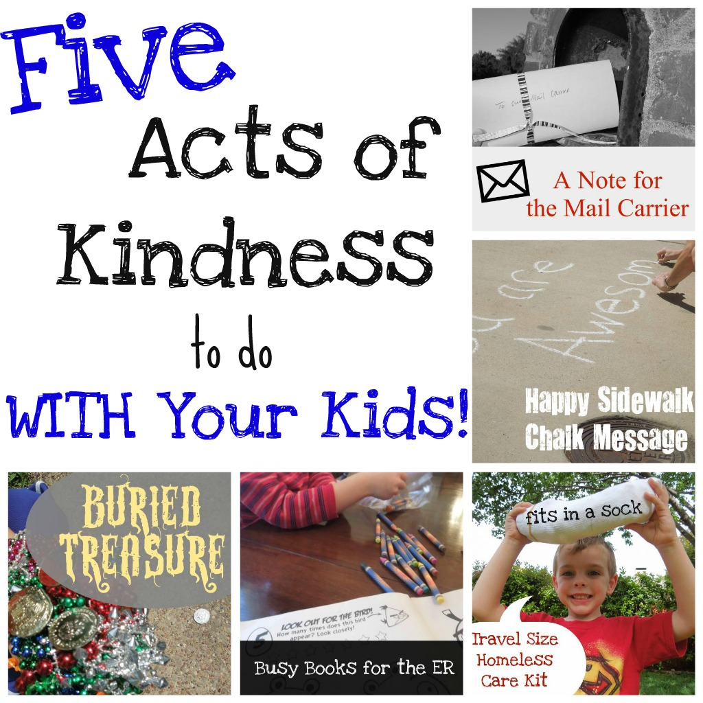 Five acts of kindness